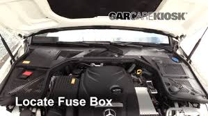 Mercedes Benz C300 Fuse Chart Blown Fuse Check 2015 2019 Mercedes Benz C300 2015