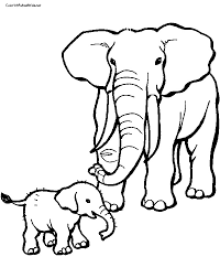 Small Picture Printable 25 Elephant Coloring Pages 6758 Elephant Coloring