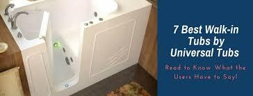 universal walk in tubs reviews