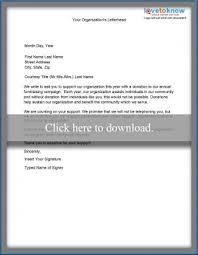 non profit fundraising letters