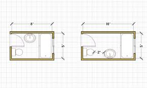 small bathroom floor plans. Interesting Bathroom Fabulous Small Bathroom Layouts Floor Plans 5 X 8  Stylegardenbd To O