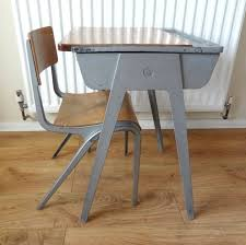 picture of antiques atlas childs school desk chair vintage childs desk and chair
