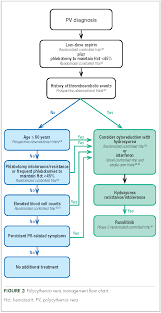 Hematology Flow Chart Management Of Polycythemia Vera In The Community Oncology
