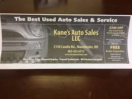 kane s auto s auto loan providers 2150 canida rd manchester nh phone number yelp