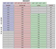 36r Jacket Size Chart Size Chart Shop Style