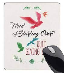Amazoncom Summer M Tired Of Starting Over Quit Giving Up Quote