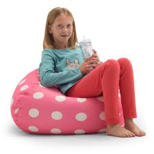 BeanSack Polka-dot Pink Bean Bag Chair - Free Shipping On Orders Over $45 -  Overstock.com - 13115795