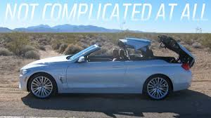 BMW 3 Series bmw 435i xdrive m sport : The 2014 BMW 4 Series Convertible Is Great But I'm Not Sure I Am