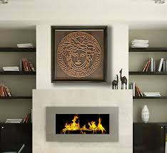 copper wall art medusa art copper