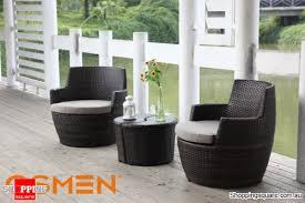 lerida 4 piece balcony setting balcony outdoor furniture