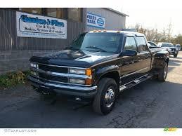 1997 Black Chevrolet C/K 3500 K3500 Crew Cab 4x4 Dually #56189048 ...