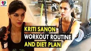 Kriti Sanon Workout Routine Amp Diet Plan Health Sutra