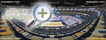 Smoothie King Seating Chart View Smoothie King Center Arena Seat Row Numbers Detailed