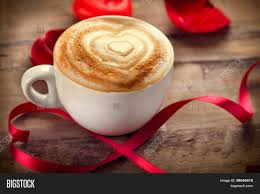 coffee love heart. Exellent Love Valentineu0027s Day Coffee With Heart On Foam Heart Drawing Cappuccino Or  Latte Art Coffee On Love I