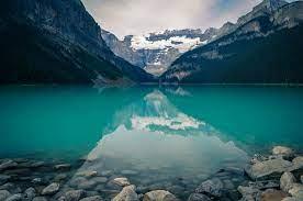 Clear Green Mountain Lake Desktop ...