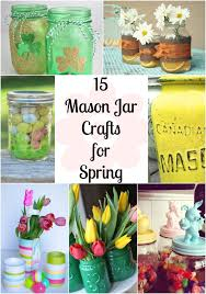 Crafts With Mason Jars 15 Mason Jar Crafts For Spring Clever Pink Pirate