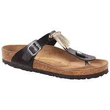 Birkenstock Shoe Size Chart Uk Birkenstock Womens Gizeh Fringe Thong Sandal