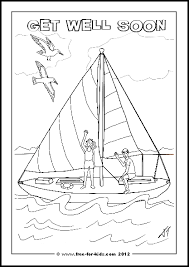 Download this set get in my language make bilingual cards. Get Well Soon Colouring Pages Www Free For Kids Com