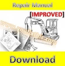 bobcat 331 331e 334 repair manual excavator 512913001 video preview