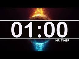 1 Minute Countdown 1 Minute Timer With Epic Music 60 Second Countdown Clock Timer Hd