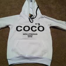chanel hoodie. chanel sweaters - coco chanel hoodie w