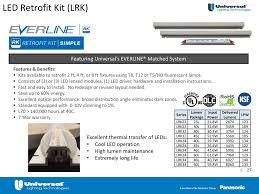 Universal Lighting Technologies Canada Everline Led Retrofit Ppt Download
