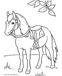 Free Horse Coloring Pages Dr Odd Shekinah Ranch Pinterest