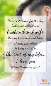 Love Quotes For Fiance Custom Saying I Love You 48 Poetic Love Messages For Fiance Power Of