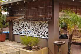 inspiring outdoor privacy screens of innos house