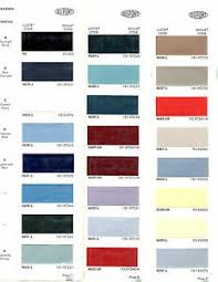 1965 Pontiac Color Chart Details About 1965 Chevrolet Corvette Pontiac Gto Oldsmobile F85 65 Buick Paint Chips Dupont 4
