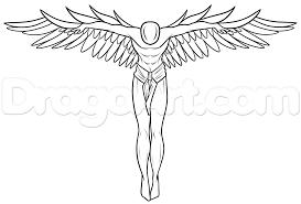 учебник рисования ангел хранитель учимся рисовать