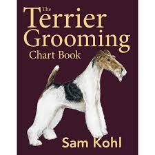 The Terrier Grooming Chart Book Pet Styling Textbooks