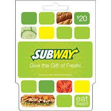 balance on my subway gift card photo 1