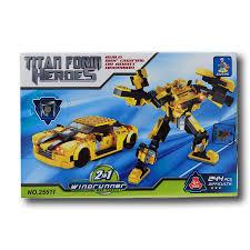 Chỉ 126,000đ Đồ Chơi Lego Ghép Hình Thông Minh 2 Trong 1( Ô Tô Và Robot)
