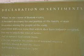 of sentiments essay declaration of sentiments essay