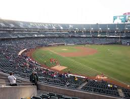O Co Coliseum Seating Chart Baseball Ringcentral Coliseum Section 205 Seat Views Seatgeek