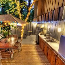 outdoor deck lighting ideas. Outdoor String Lights On Deck Christmas Lighting Ideas
