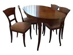 Dining Room Tables Used Vintage Used Dining Table Chair Sets Chairish Baker Walnut