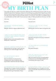 Free Birth Plan Templates Birth Plan Template Birthing Printable Templates Checklist Sample