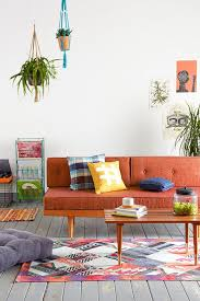 Orange Couch Living Room 17 Best Ideas About Orange Sofa On Pinterest Orange Sofa Design