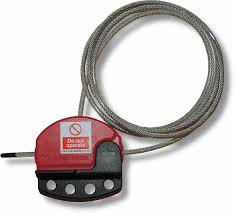 Masterlock S806 <b>Adjustable cable lockout</b> | Reece Safety