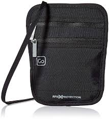 Design Go Bags Design Go Rfid Passport Pouch Black Amazon In Bags