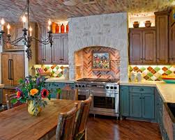 Rustic Ranch Kitchen By Design House, Inc. Rustic Kitchen