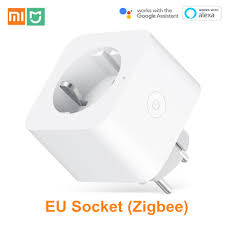 Xiaomi Mijia <b>EU</b> Smart Socket <b>WiFi</b> Zigbee Remote Control Time ...