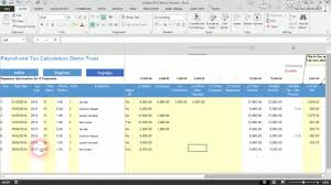 Excellary Payroll System On Ms Excel Youtube