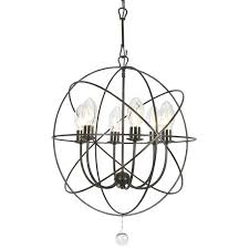 crystorama solaris outdoor 6 light bronze sphere chandelier crystorama solaris 3 light mini chandelier crystorama solaris