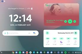 install android widgets on a chromebook