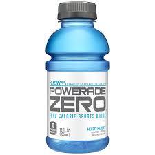 powerade sports drink mixed berry zero 12 fl oz 12 count walmart