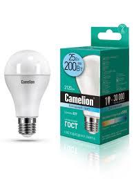 Светодиодная <b>лампочка</b> LED 25W 4500К <b>E27 Camelion</b> 8566055 ...