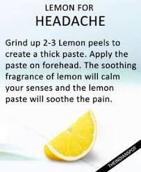 migraine pain relief home remedy
